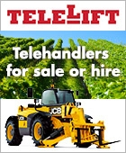 Telehandlers for sale or hire